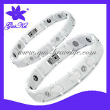 2014 Gus-Cmb-016 Hot Style Ceramic Bracelet Jewelry with Negative Ion Health Care for Body in Lovers' Design