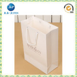 Manufacture Custom White Kraft Paper Handle Bag with Logo (JP-PB016)