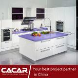 Violet Fashion Stylish Stoving Varnish Lacquer Kitchen Cabinet (CAIK-06)