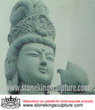 Hand Carved Marble Buddha for Outdoor (SK-2238B)