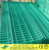 PVC Coated Welded Wire Mesh Fence Panels
