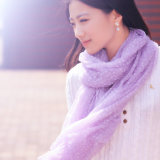100% Merino Wool Flocking Scarf (12-BR010702-1.4)
