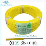 Af200 0.1mm FEP Teflon Insulated Silver Copper Wires Cable