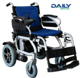 Light Weight Middle Size Aluminum Alloy Electric Power Wheelchair with Suspension