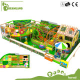 Jungle Themed Plastic Indoor Playground Good Price Best Quality