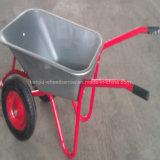 Russia Market Double Wheel Wheelbarrow (WB5009)