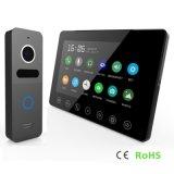 Memory Luxury 7 Inches Home Security Interphone Video Door Phone Intercom