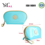 Hot Sales Blue Clear PVC Cosmetic Bag Makeup Bag