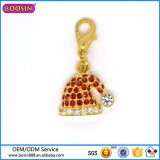 Alibaba Hot Selling Fashion Crystal Hat Pendant for Christmas