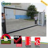 High Quality Double Glazing UPVC/ PVC Bifold Door