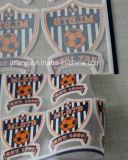 Flock Badge Stickers Heat Transfer Prints for Sportswear Garments