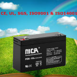 Good Quality Rechargeable Valve Regulated Lead Acid Battery 6V