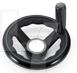 2016 Black Super Reinforeced Nylon Handwheel with Finger Gears