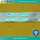 2D DOT Matrix Laser Custom 3D Hologram Sticker/Label