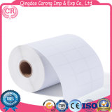 Blank Die Cut Medical Thermal Paper Adhesive Sticker Labels