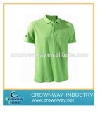 Double Mercerized Mans Cotton Golf Shirt with High Quality