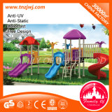 Simple Garden Children Slide Round Roof Outdoor Playground