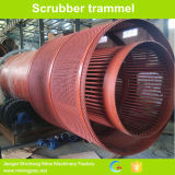 High Efficiency Trommel Scrubber Equipment for Alluvial Gold Cocnentrating Plant
