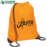Cheap Custom Polyester Drawstring Backpack Bags Drawstring Rucksacks Bags