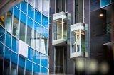 Elegant Observation Elevator with for Sides Glass