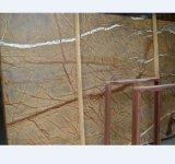 Rainforest Brown, Green Marble Slabs Floor Tiles