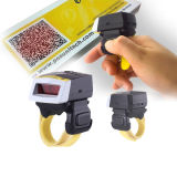 Direct Manufature Bluetooth Android/Ios/W8 Finger Ring Style Laser Barcode Scanner