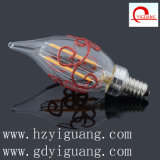 Flame Bent Tip Shape C32 Filament LED Light