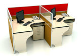 Modular Call Center Design Office 2 Seater Workstation Partition (HF-YZ0211)