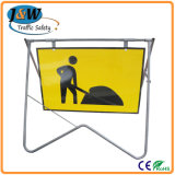High Quality Road Barricade Australia Portable Swing Sign Stand