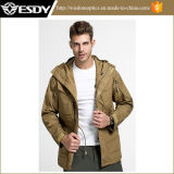 Tactical Men′s Outdoor Sports Warm Assault Combat Windbreaker Training Coat
