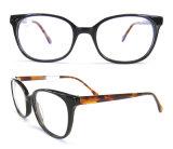 New Designed Classical Round Shape Acetate Eyewear for Women