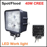 40W Square LED Work Light for Jeep Offroad 4X4
