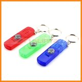 Travel Emergency Tool Rescue Whistle with Compass LED Light