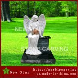 Facatory Direct Granite Gravestone Memorial Monument with Angel