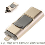 New Design Metal Material USB Flash Drive for iPhone