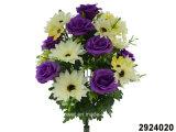 Artificial/Plastic/Silk Flower Rose/Gerbera Mixed Bush (2924020)