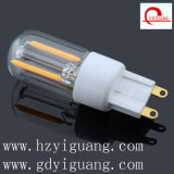 High Quality Clear Glass Cover LED Light Bulb G9