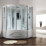 Monalisa Bathroom Design Steam Shower Room with Massage Tub (M-8208)