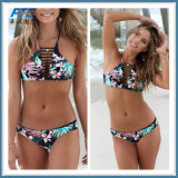 Push up Swimwear Women Swimsuit Retro Vintage Bikini