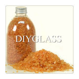 Orange Crushed Glass
