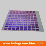 3D Laser Rainbow Effect Custom Hologram Sticker