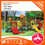 Plastic Swing Slide Tree Style Outdoor Playground