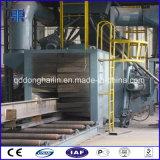 Qh6918 Steel Structure Roller Conveyor Through Abrator Shot Blasting Equipment
