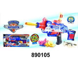 New! ! Electrical Plastic Toys B/O Soft Gun (890105)