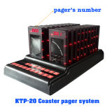 Wireless Queuing Management System Coaster Pagers in Hotel, Restaurant