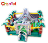 New Designed Inflatable Obstacle Course with Slide