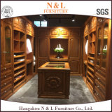 N&L Cherry Wooden Wardrobe Furniture Bedroom Closet Furniture