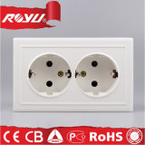 Hot Sell CB European Double Schuko Socket Outlet