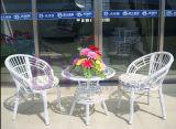 Wholesale Cheap Metal Tube PE Rattan Wicker Outdoor Garden Furniture