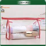 Hot Sell Quality Transparent Handmade Zippered Wash Bag